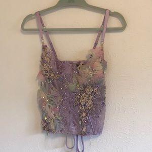 Hand embellish Victoria Secret corset